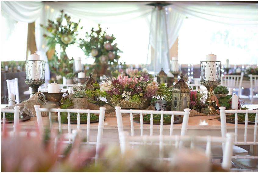 Cape Town wedding decor