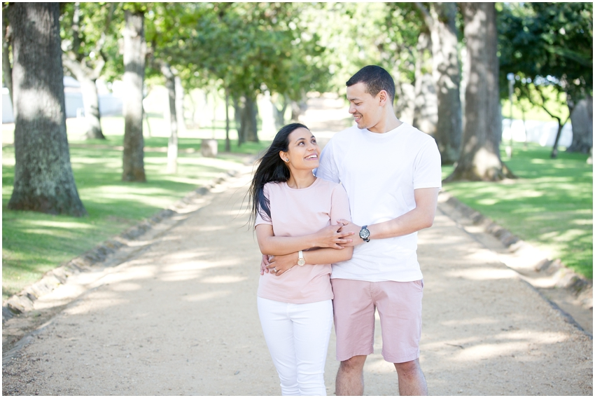 Engagement shoot -  Groot Constantia